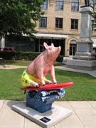 Lexington Surfer Pig