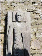 Kilfane ruins - torso of Cantwell Fada
