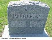 Wedeking Tomb Stone