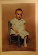 I was a bald child apparently.. Hopefully not a glimpse into my future