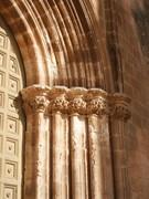 Chiesa di Santa Maria del Carmelo - Particolare del portale del sec XIV