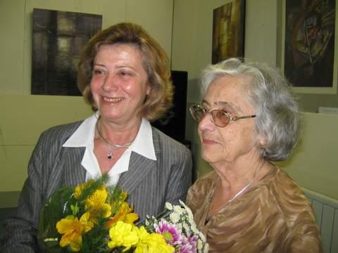 Мария Ч - с майка си