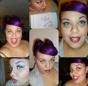Pin up look for Contest