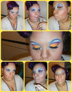 Drag Queen inspired look for contest