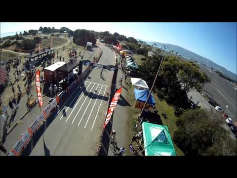 Aerial coverage of Candlestick BASP Cyclocross Race #1 - MWC Scarab Aerial Footage