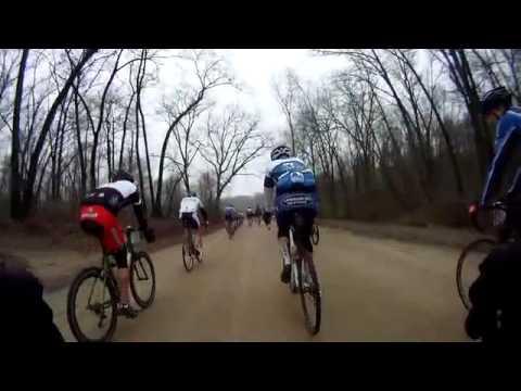 Barry Roubaix Killer Gravel Road Race Highlights