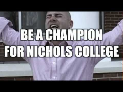 Be A Champion For Nichols College - TGOP