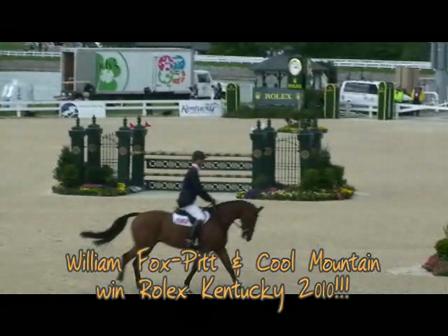 William Fox-Pitt and Cool Mountain win 2010 Rolex Kentucky!