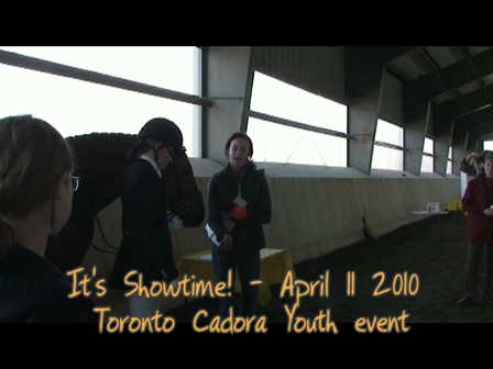 Toronto Cadora Youth: Its Showtime! April 11 2010