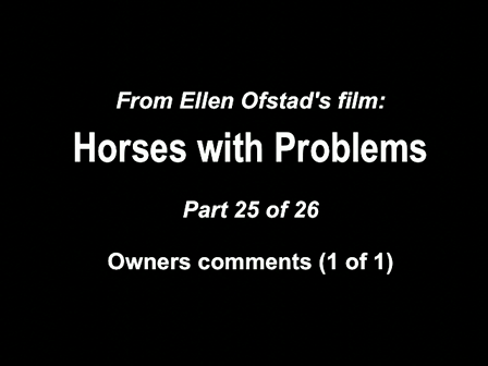 25-26 Horses with Problems - Owners comments 1-1