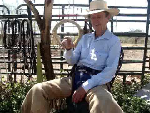 Ray Hunt: Colt Starting, San Antonio, TX around 1982