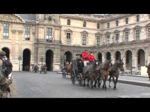 Riding Through the Streets of Paris