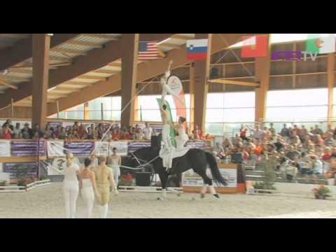 FEI European Vaulting Championships 2011 - Event Report
