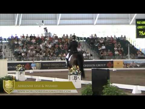 World Dressage Masters  2012 - Adrienne Lyle and Wizard, #1 Grand Prix Special