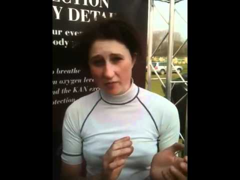 Laura Watson kan Teq Body protector Testimonial