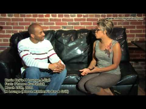 Kevin Key int with R&B singer C'hanon KurPatrick