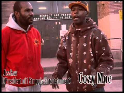 1 struggle TV/ Jizzraw interview W/ Cozy Moe (03/29/11)