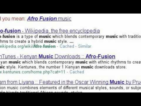 Afrofusion Music