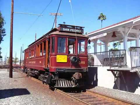 Pacific Electric Red Car at San Pedro, CA 9/20/08