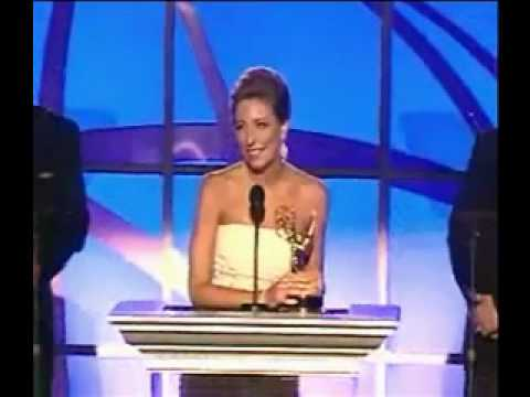 Brenda Brkusic, Jack Baric and Chris Burke Accepting the 2009 Los Angeles Area Emmy Award