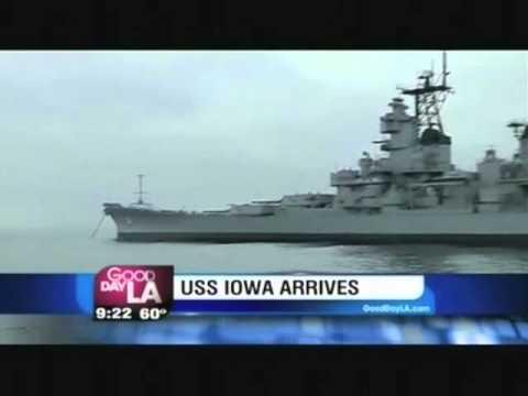Councilman Joe Buscaino Talks to Fox 11's Hal Eisner about USS Iowa Live on Good Day LA