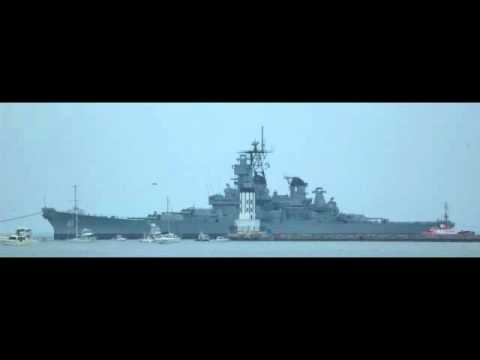 USS Iowa Angel's Gate.m4v