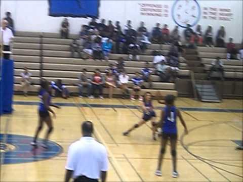 SPHS Girls Volleyball vs. Washington Prep (9-19-2013)