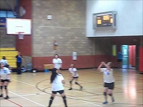 POLAHS Girls Volleyball vs. South Region 12 (9-25-2013)