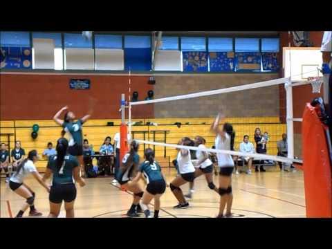 POLAHS Girls Volleyball vs  Bright Star (11-6-2013)