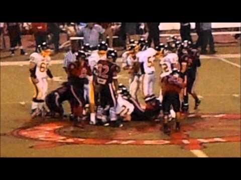 SPHS Football vs. Banning (10-25-2013)