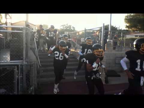 San Pedro High Football 2013 Enters Pirate Stadium