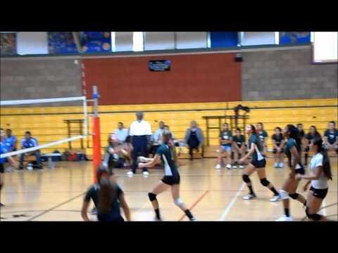 POLAHS Girls Volleyball vs  Foshay LC (10-2-2013)