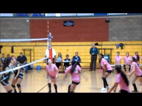 POLAHS Girls Volleyball vs. Diego Rivera (10-30-2013)