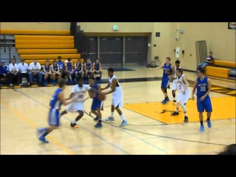 San Pedro High Boys Basketball vs. South Tahoe (12-26-2013)