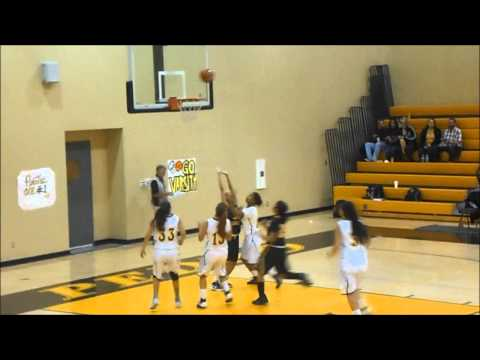 SPHS Girls Basketball vs. King-Drew (12-18-2013)