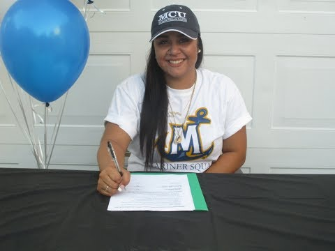 Andrea Cline (Class Of 2017) Signs With Marymount California University Softball