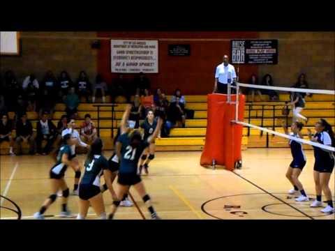 POLAHS High Girls Volleyball vs. Legacy (11-12-2013)
