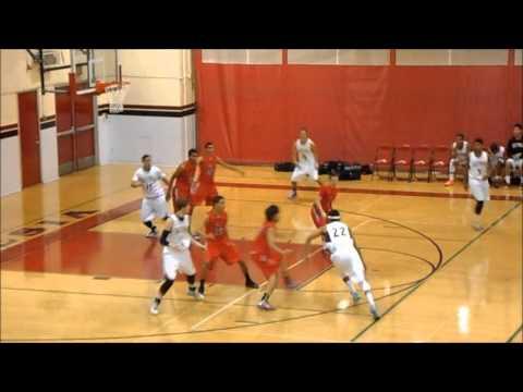 San Pedro High Boys Basketball vs. South Gate (12-10-2013)