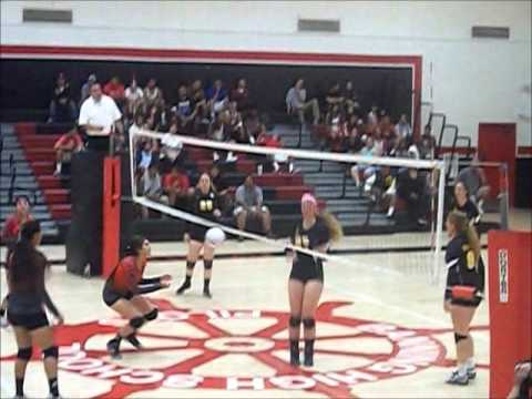 SPHS Girls Volleyball vs. Banning (9-23-2013)