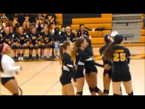 SPHS Girls Volleyball vs. Carson (10-31-2013)