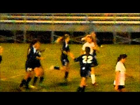 Dori Lindeman Uses Her Head On This Clutch Goal!