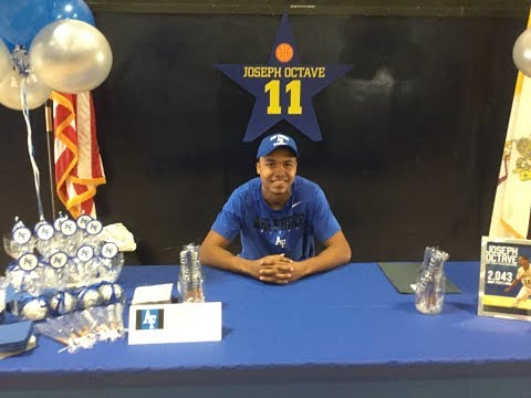 Joseph Octave (Class Of 2019) Signs With Air Force University Men's Basketball