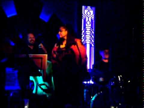 Sharon Marie Cline with her band in Los Angeles!!