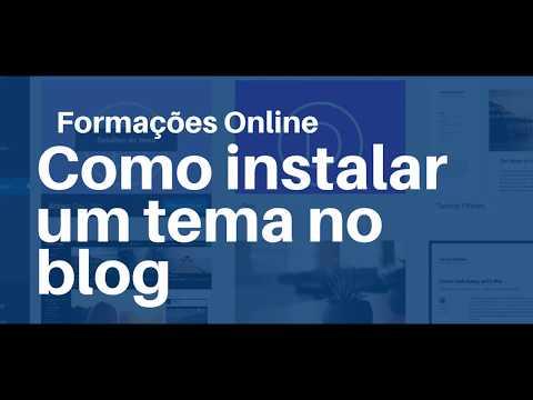 Como instalar um tema - WordPress -   Formações Online