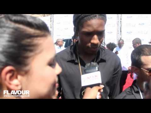 A$AP Rocky super funny at 2012 B.E.T Award show on the Red Carpet full interview