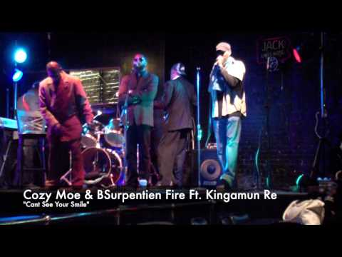CozyMoe & BSurpentien Fire performance @Chuck Alibi (11-16-14)