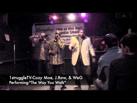 1struggleTV-Cozy Moe, J.Raw, WeG Performance @The Rusty Nail(Ardmore, PA-11-18-11)