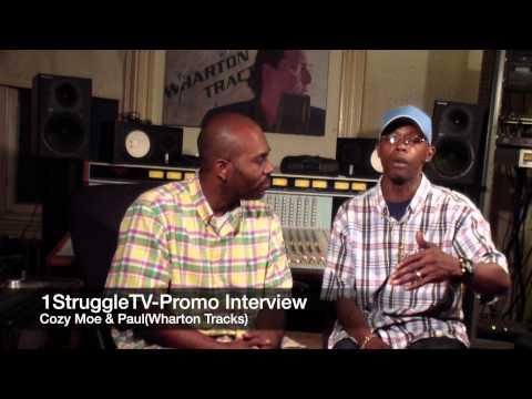 1StruggleTV Promo Interview w CozyMoe & Paul (Wharton Tracks)