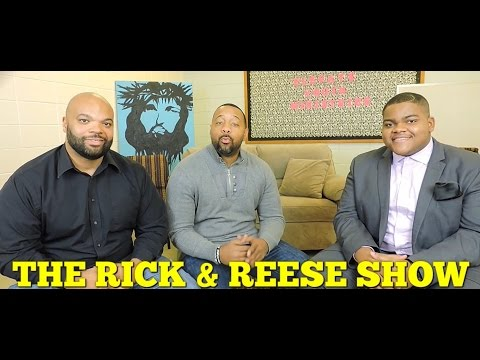 The Rick and Reese Show: Interview with Geoffrey Golden (BET Sunday Best Season 7 Winner)