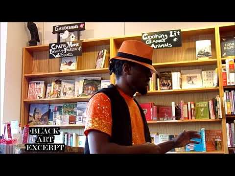 Damont Combs Poetry Booksigning